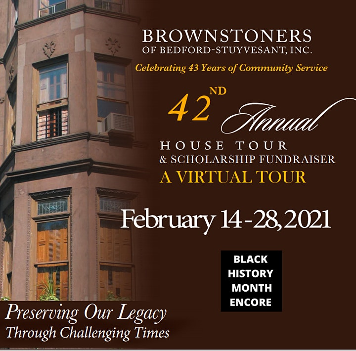ENCORE! - The Brownstoners of Bedford-Stuyvesant Virtual 42nd House Tour image