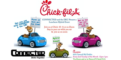 Hybrid - Chick Fil A - Virtual & live in person Event tickets