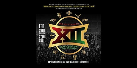 RSVP for the Big XII Conference on Black Student Government tickets