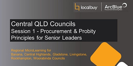 Regional Series Session 1 -Procurement & Probity Principles for Snr Leaders tickets