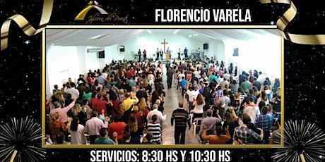 Iglesia del Puente Florencio Varela (Servicio de 8:30hs - 11:00hs) entradas
