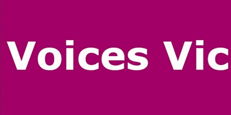 Voices Vic - Hearing Voices Approach Training tickets
