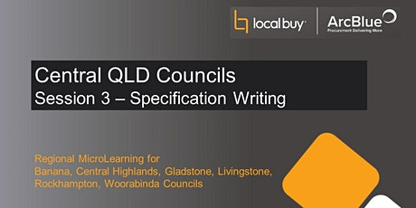 Regional Series Session 3 - Specification Writing (Full Day) tickets