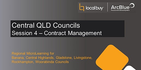 Regional Series Session 4 - Contract Management (Full Day) tickets