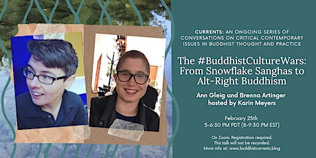"""The #BuddhistCultureWars: From Snowflake Sanghas to Alt-Right Buddhism"" tickets"