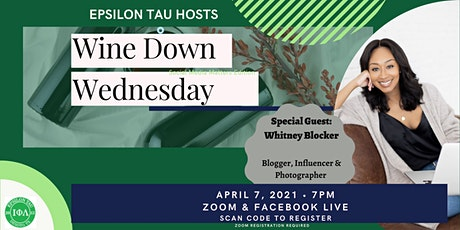 Epsilon Tau Wine Down Wednesday: Social Media Matters tickets