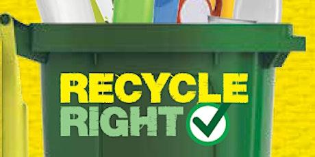 Recycle Right Refresher - Kurri Kurri Library tickets