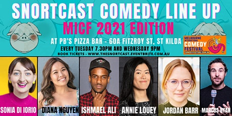 MICF SnortCast Comedy with in St Kilda! tickets