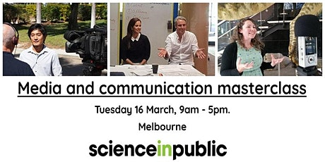 Media and communication masterclass (March - Melbourne) tickets