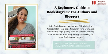 A Beginner's Guide to Bookstagram: For Authors and Bloggers tickets