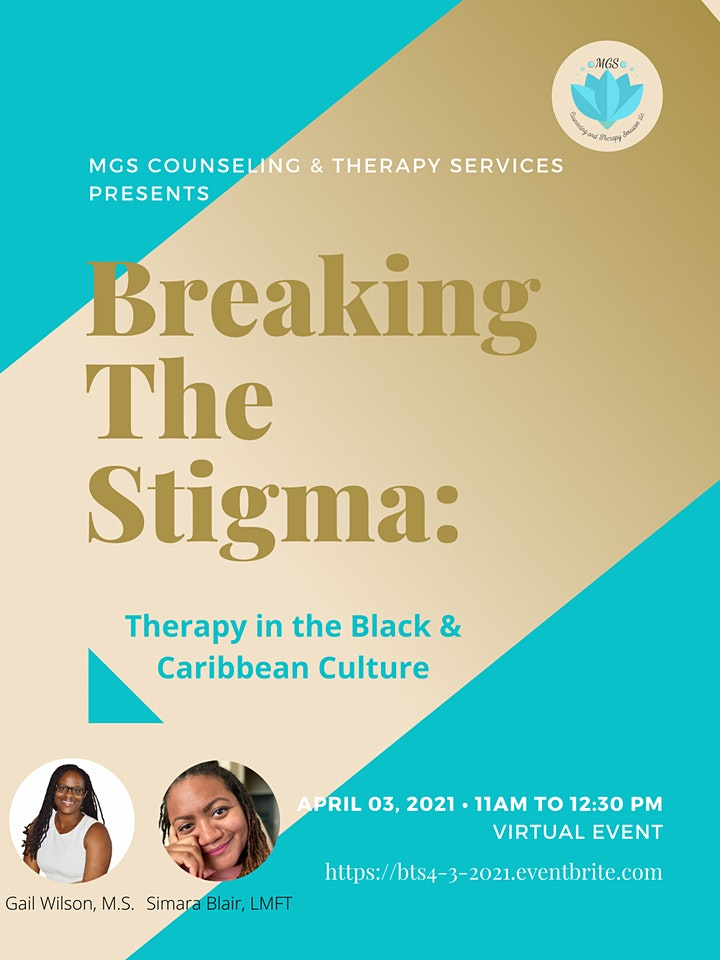 Breaking The Stigma: Therapy in the Black & Caribbean Culture image