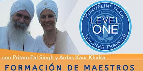 Formación de Maestros Kundalini Yoga Nivel 1 tickets