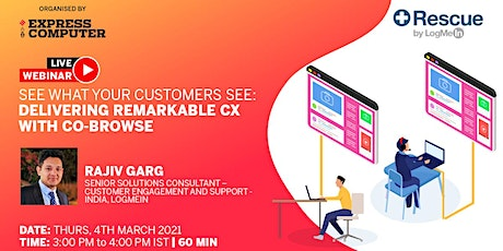 See What Your Customers See: Delivering Remarkable CX with Co-Browse tickets