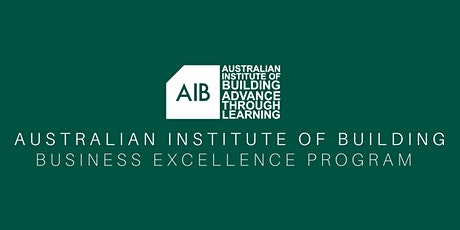 AIB Business Excellence Program Masterclass tickets