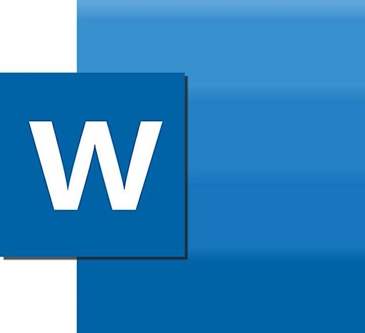 eLearning - Microsoft Word image