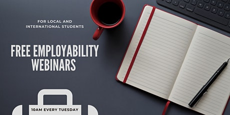 Employability Webinar Series tickets