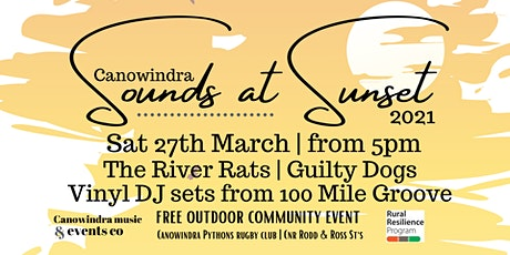 Sounds at Sunset tickets