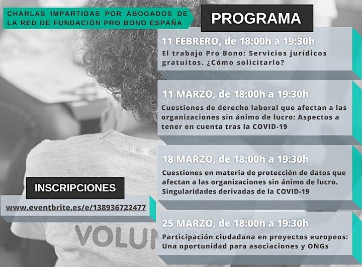 Imagen de Jornadas online de formación jurídica gratuita a organizaciones sociales