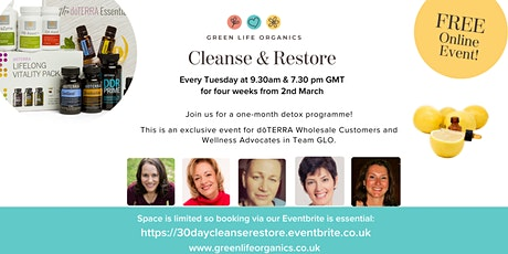 Cleanse & Restore! tickets
