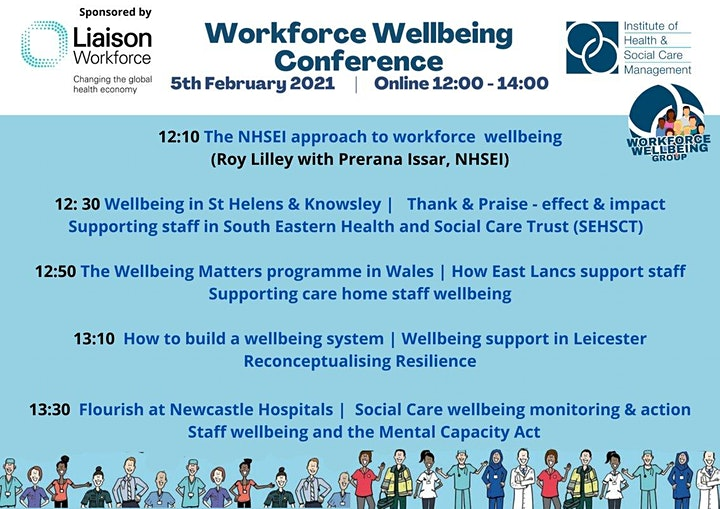 IHSCM Workforce Wellbeing Conference image