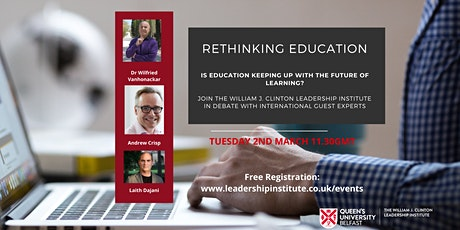Rethinking Education: Is Education Keeping Up With The Future of Learning? tickets