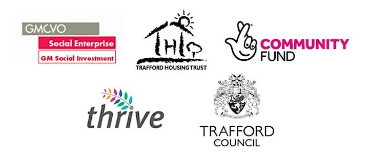 Trafford Funders Virtual Drop-in image