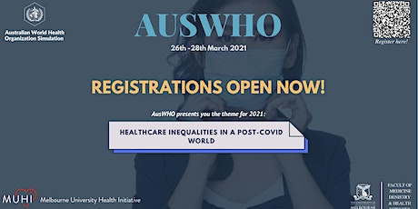 Australian World Health Organisation (AusWHO) Conference 2021 tickets