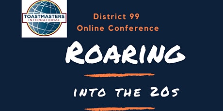 Toastmasters D99 Online Conference (23/24-Apr-2021) tickets