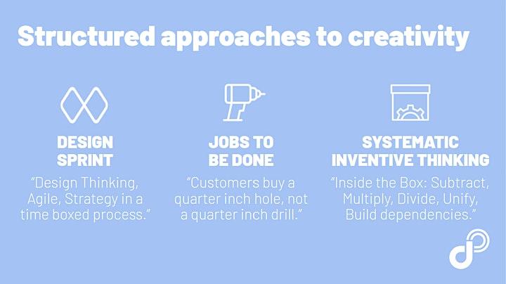 Innovation: Methoden, Tools und neue Arbeitsprinzipien (1h gratis): Bild