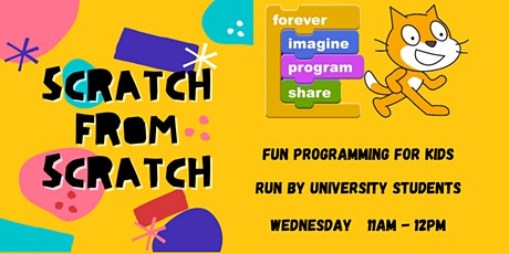 Scratch from Scratch: Fun Programming Classes for Primary School Students tickets