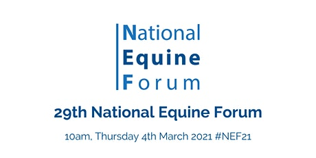 29th National Equine Forum (#NEF21) tickets