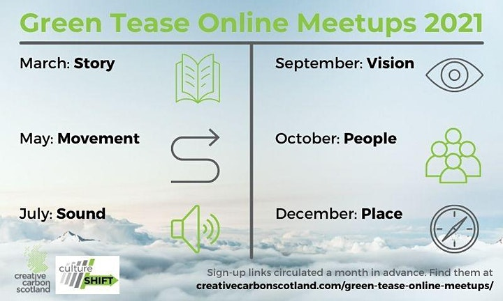 Green Tease March Meetup image