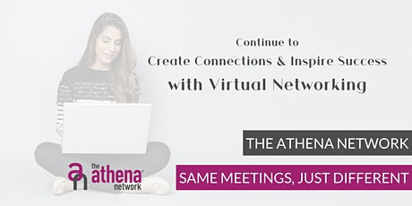 The Athena Network Basingstoke WEST  ONLINE Businesswomen's Networking tickets