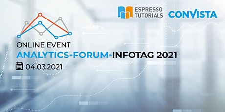 Analytics-Forum-Infotag 2021 Tickets
