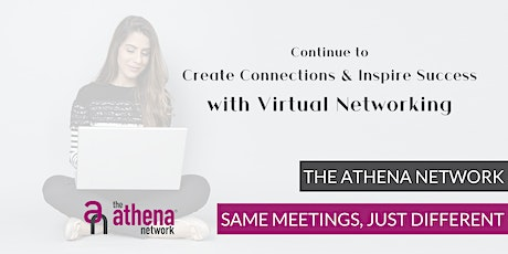 The Athena Network Basingstoke CENTRAL ONLINE Businesswomen's Networking tickets