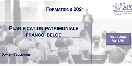 Planification patrimoniale franco-belge billets