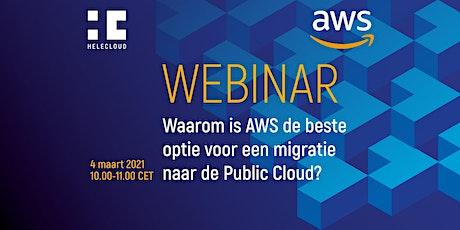 Waarom is AWS de beste optie voor een migratie naar de Public Cloud? tickets