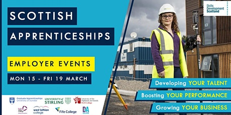 Scottish Apprenticeships - Employer Events tickets