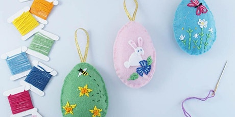 Stitch your own Easter decorations tickets