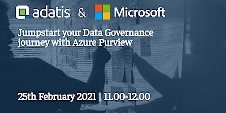 Jumpstart Your Data Governance Journey using Azure Purview tickets