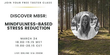 Discover Mindfulness-Based Stress Reduction (MBSR) biglietti