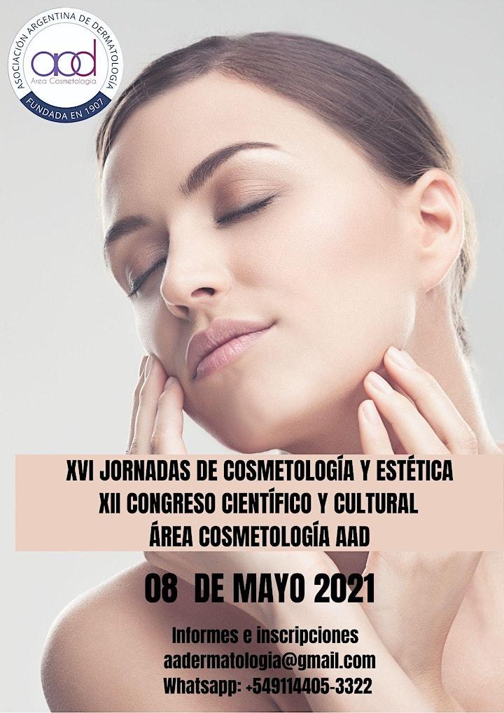 Imagen de XVI JORNADAS DE COSMETOLOGÍA Y ESTÉTICA - XII CONGRESO CIENTÍFICO  ON LIVE