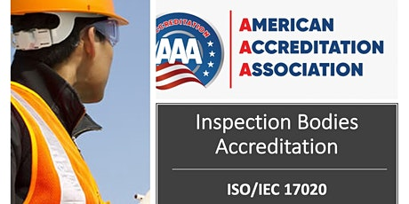 ISO/IEC 17020 Inspection Bodies Accreditation tickets