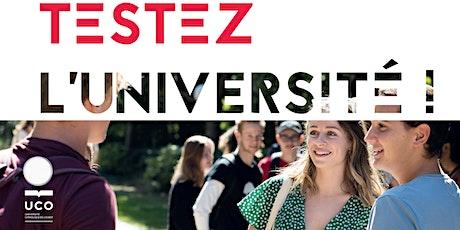 TESTEZ L'UNIVERSITÉ -UCO NANTES- 23/24 février, 02-03 mars 2021 billets