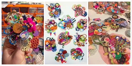 Stitched Scrap Brooches with Jessica Grady tickets