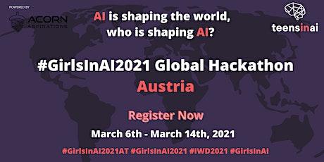 #GirlsInAI2021 Hackathon – Österreich / Austria Tickets