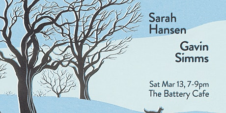 Sarah Hansen & Gavin Simms at The Battery Cafe tickets