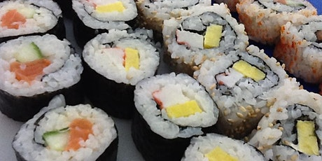 Online Sushi Making for Beginners tickets