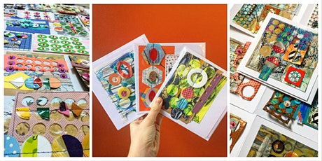 Stitched Mixed Media Collage Cards with Jessica Grady tickets