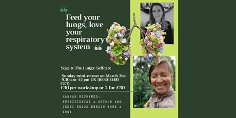 Yoga & The Lungs | MINI RETREAT tickets